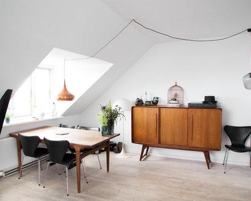 Billeder og indretningsidéer til skandinavisk spisestue