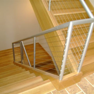 1_Horizontal Metal Cable Balustrade, Bowie, MD 20720