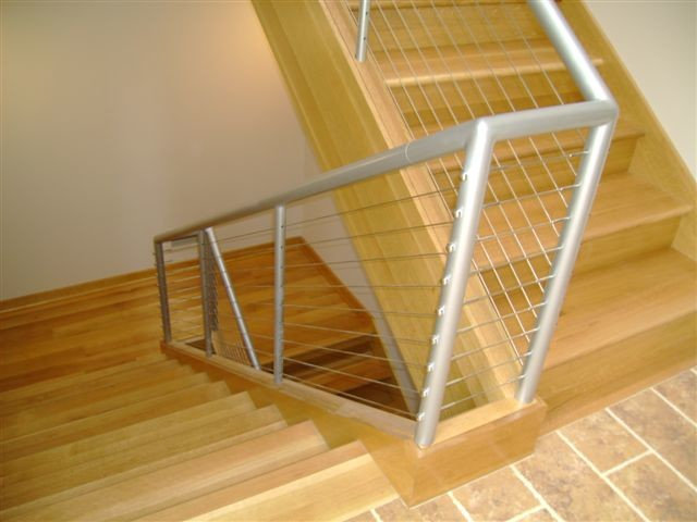 Chaffie Cable Railing Project