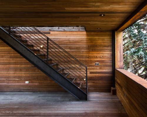 Fantastic Houzz Front Entrance Stair Design Ideas Remodel Pictures Largest Home Design Picture Inspirations Pitcheantrous