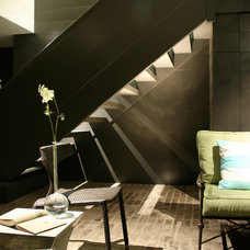 Contemporary Staircase by Pursley Dixon Architecture