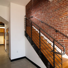Industrial Staircase by Bali Construction