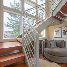Contemporary Staircase by Hower Architects