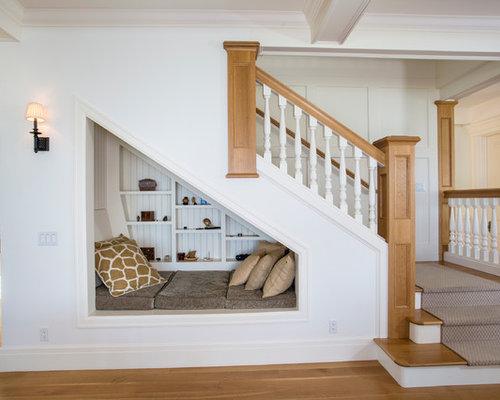photos et id es d co d 39 escaliers bord de mer avec des. Black Bedroom Furniture Sets. Home Design Ideas