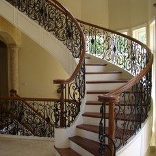 Mediterranean Staircase by Heartland Stairways