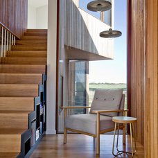 Contemporary Staircase by Auhaus Architecture