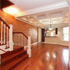 Traditional Staircase by New City Construction