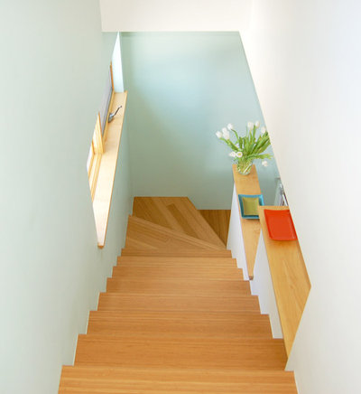 Contemporary Staircase by Larson Shores Architects