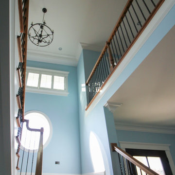 16_Spiral White Oak Treads to Fabulous Home Observatory, Fairfax VA 22032