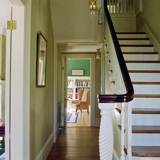 Victorian staircase in Orange County.