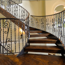 Traditional Staircase by Kashi Organization, Inc.