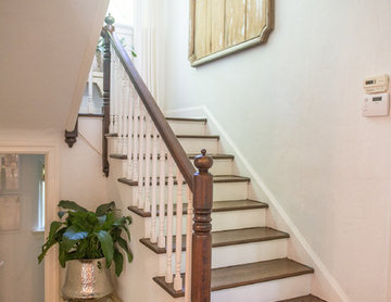 1920's Mediterranean Revival - Staircase
