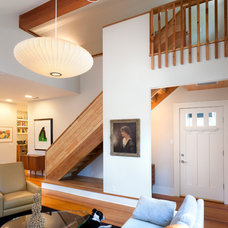 Contemporary Staircase by Rick & Cindy Black Architects