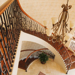 staircase by Custom Railz & Stairz Inc.