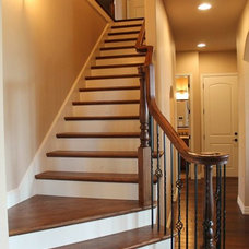 Traditional Staircase by Douglas Custom Homes