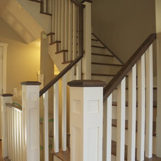 Traditional Staircase by Veranda Estate Homes & Interiors