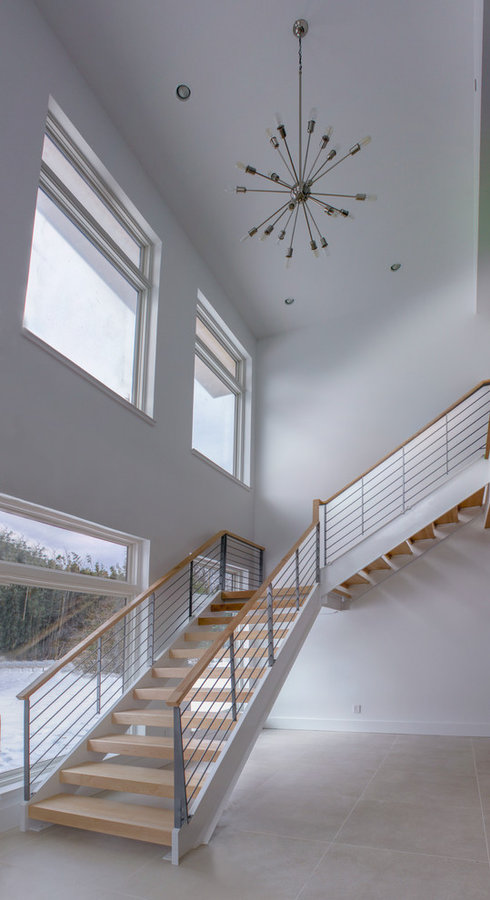 Minimalist Stairs-Fairfax, Virginia 22030