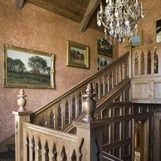 Traditional Staircase by Period Homes, Inc.