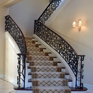 Inspiration for a large timeless staircase remodel in Phoenix