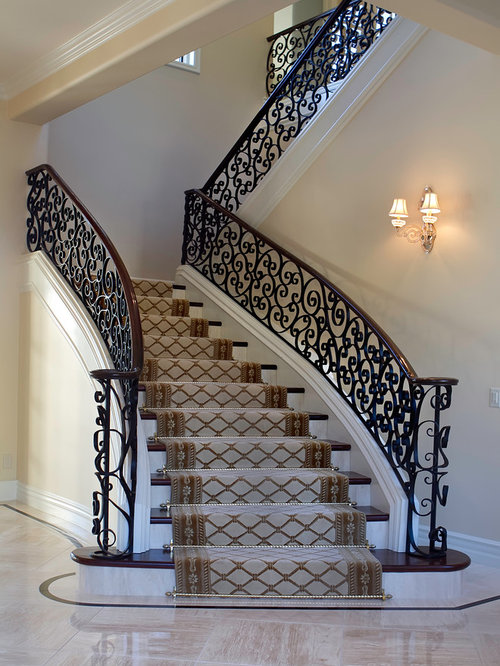 Best Wrought Iron Spiral Staircase Design Ideas Amp Remodel