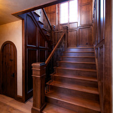 Traditional Staircase by Ralph's Hardwood Floors