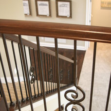 Mediterranean Staircase by Otero Signature Homes