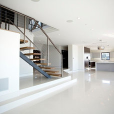 Modern Living Room by Imperial Tile & Stone