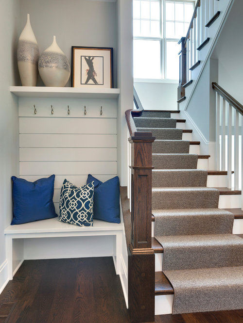 U Shaped Staircase Design Ideas Remodels Amp Photos