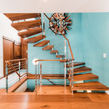 2019 SMA StairCraft Awards - Best Stairway Renovation - Heartland Stairways
