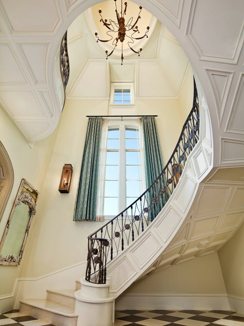 Victorian Dallas Staircase Ideas Designs Remodel Photos