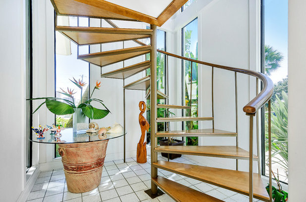 Tropical Staircase by Emerald Coast Real Estate Photography
