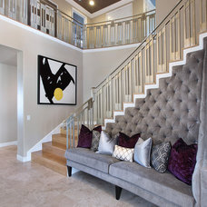 Contemporary Entry by 27 Diamonds Interior Design