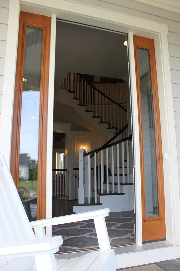 Elliptical Staircase in Loudoun County, Virginia
