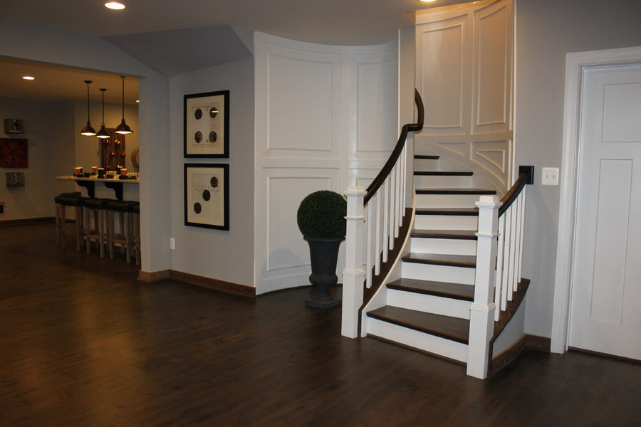 Fabulous Elliptical Staircase in Loudoun County, Virginia