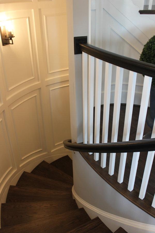 Fabulous Elliptical Staircase in Loudoun County, Virginia