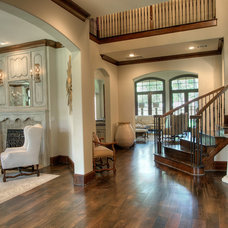Traditional Staircase by Rice Residential Design