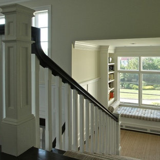 Example of a coastal staircase design in New York