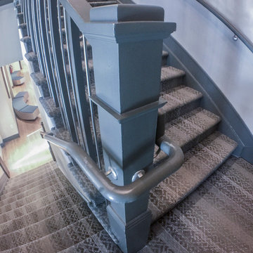 30_Industrial Style Staircase in Renovated Community Clubhouse, Arlington VA 222