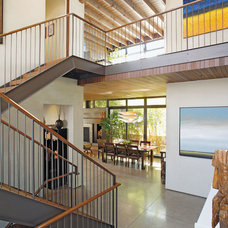 Modern Staircase by Kirkpatrick Architects