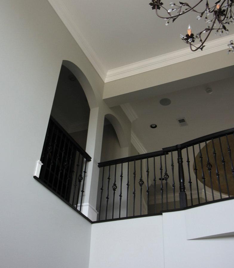 Exquisite Custom Flowing-Staircase in Phenomenal Home, Haymarket VA 20169