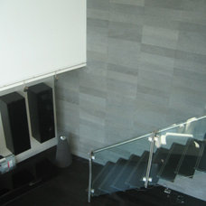 Modern Staircase by Frank Valdes