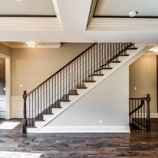 Traditional Staircase by Steele Consulting Group
