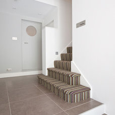 Contemporary Staircase by Moon Design + Build