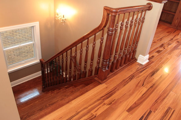 Traditional Staircase by Healey Company