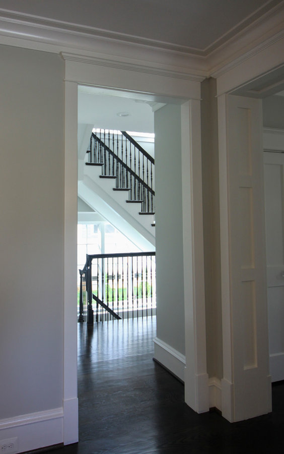 Dramatic Semi-floating Staircase for Top D.C. Builder, Arlington VA 22207