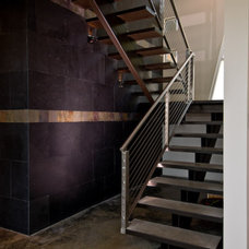 Modern Staircase by Fuse Architects, Inc.