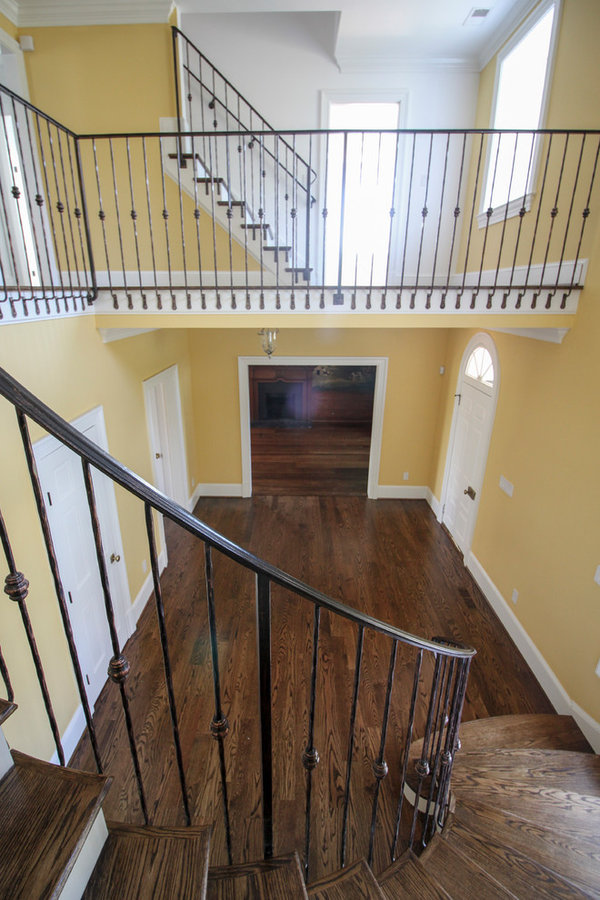 Historic Country Mansion Staircase, Warrenton