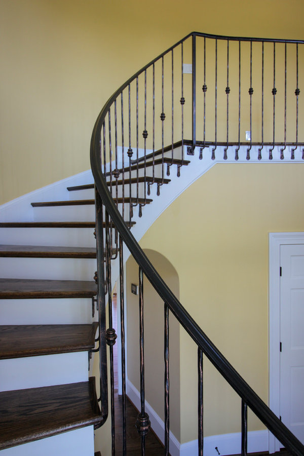 Historic Country Mansion Staircase,