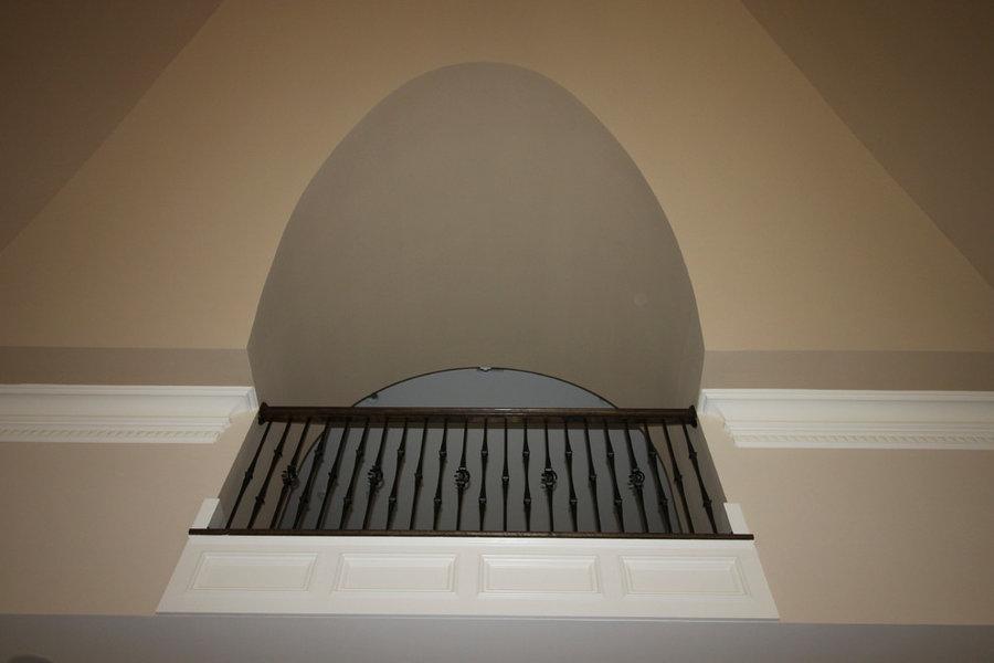 Inspiring Oak & Wrought Iron Balustrade in Stunning Residence, Mclean VA 22101