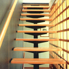 Modern Staircase by 450 Architects, Inc.